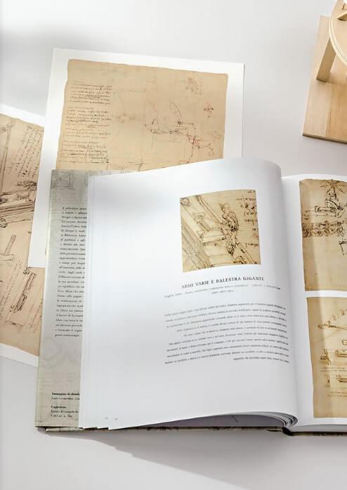 Leonardo da Vinci e i segreti del codice atlantico + 2 tavole