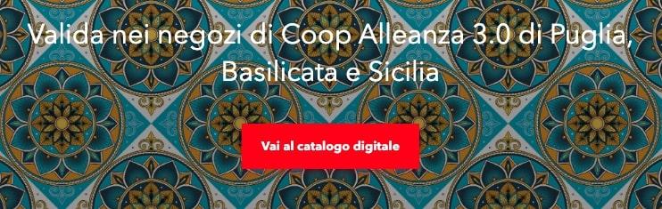 Raccolta punti Coop Puglia, Basilicata e Sicilia