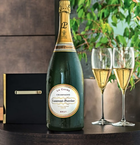 champagne magnum Laurent-Perrie
