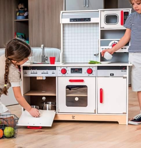 cucina per bambini hape 97x37x97 cm (LxPxH)