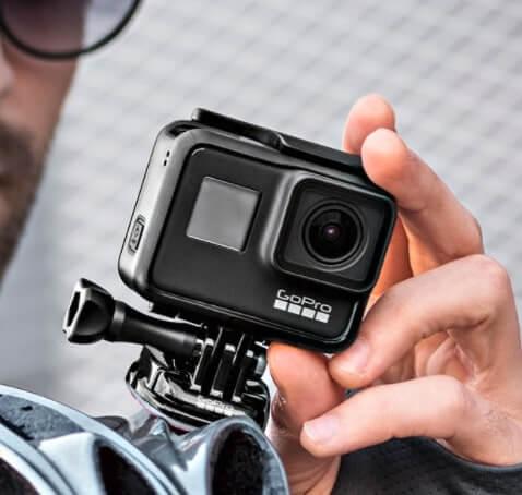 go pro hero 7 black action camera