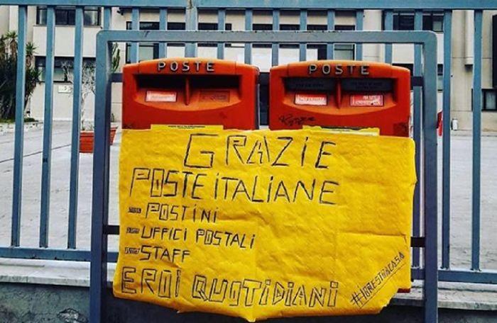 poste italiane coronavirus