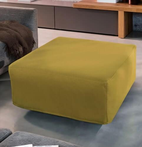 pouf tavolo campeggi 90x90x42 cm