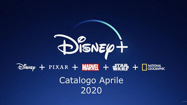 disney plus catalogo film 2020