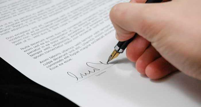 documento firmato