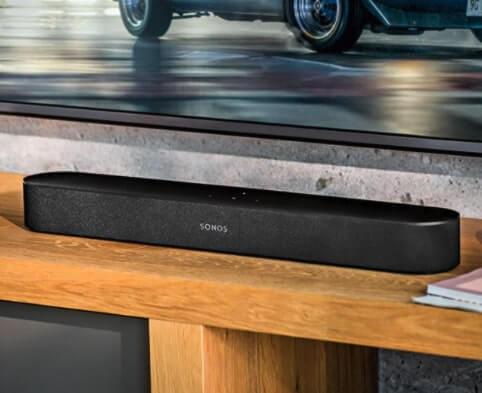 soundbar sonoos 65,1x10x6,8 cm