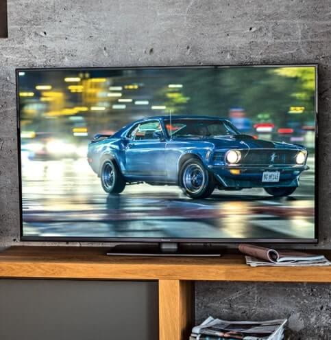 tv led 4k hdr 55 panasonic
