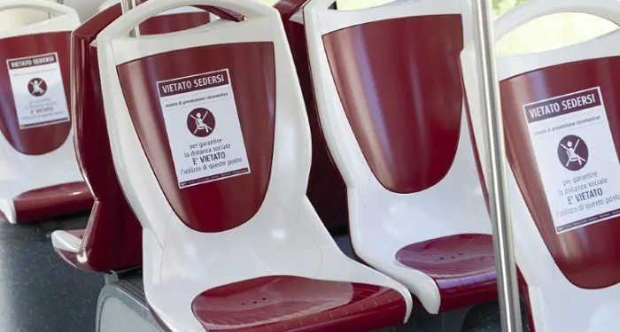 posti vietati sui mezzi pubblici