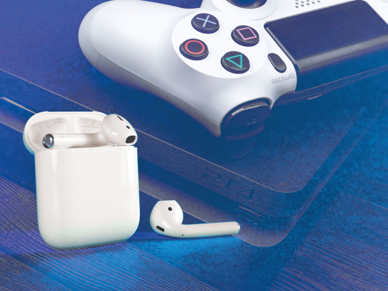 collegare airpods ps4